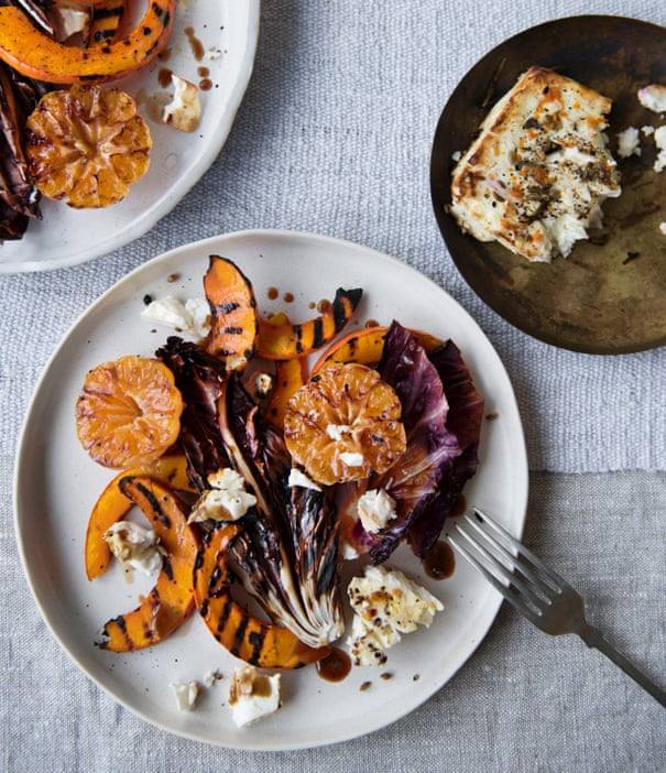 Warm salads for cool summer days